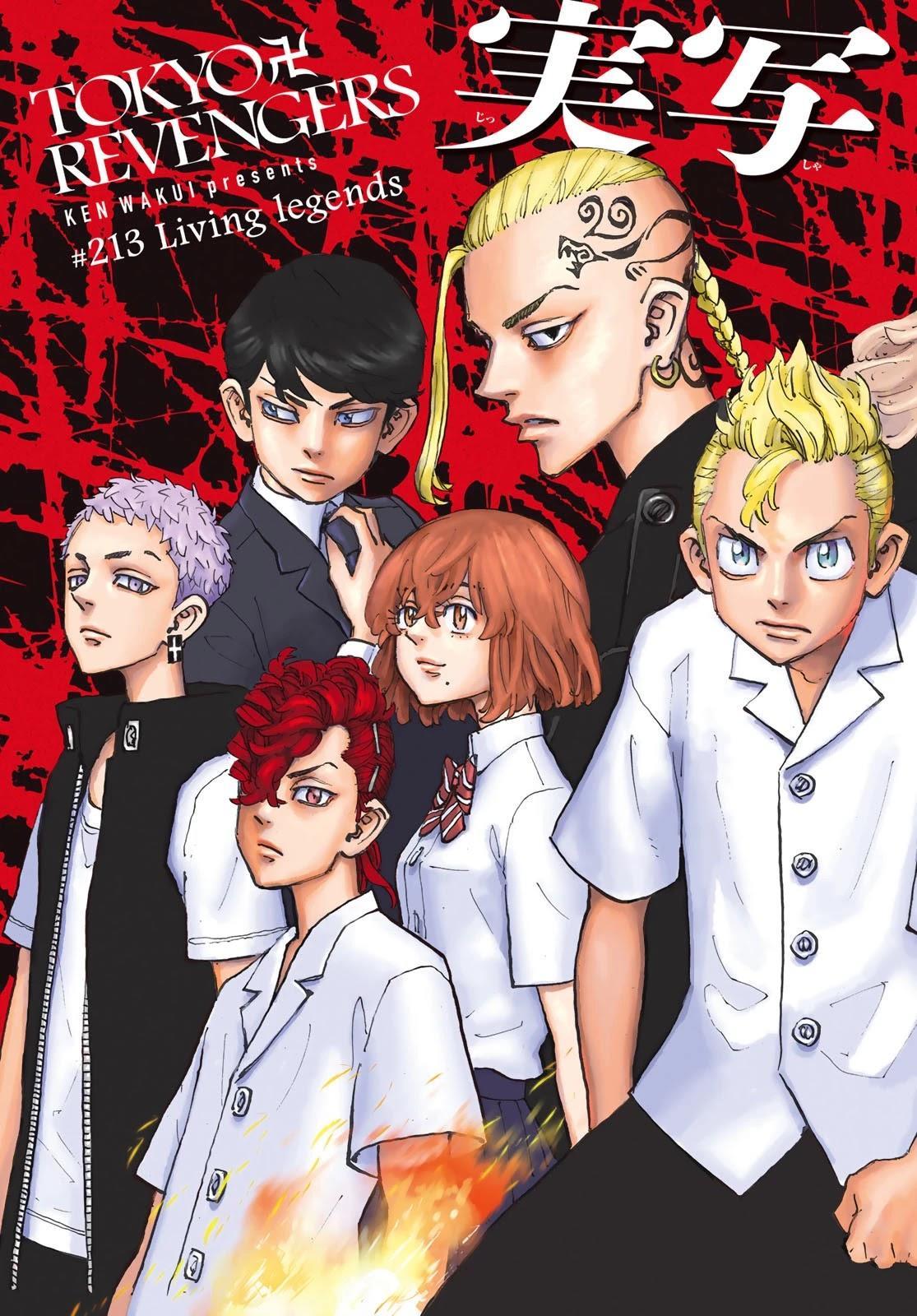 Tokyo Manji Revengers Chapter 213: Living Legends page 5 - Mangakakalots.com