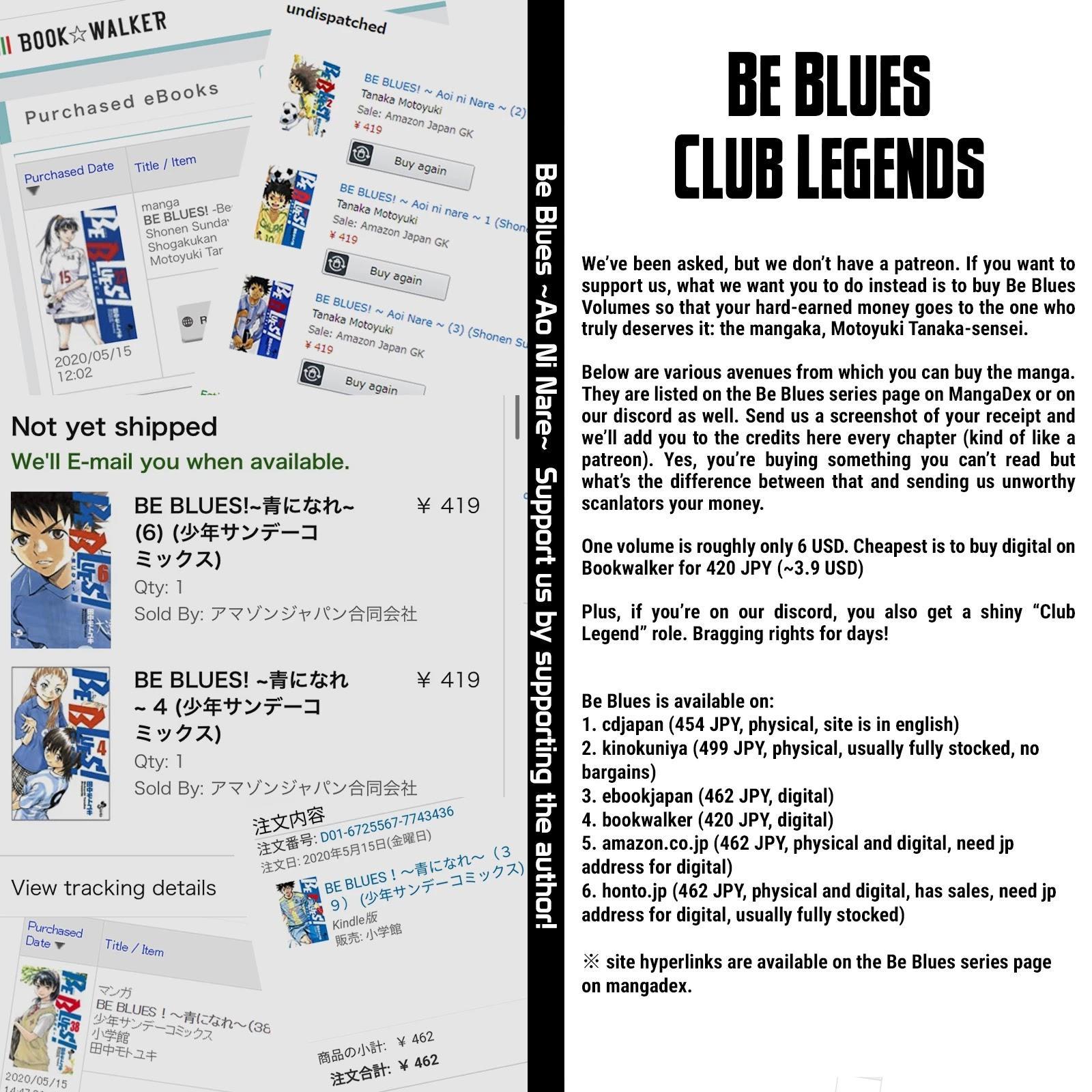 Be Blues ~Ao Ni Nare~ Chapter 453: Than The Ideal page 19 - Mangakakalots.com
