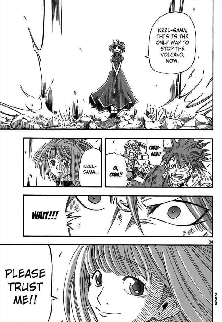 Buster Keel! Vol.2 Chapter 16 : My Funny Crem (Part 3) page 34 - Mangakakalots.com