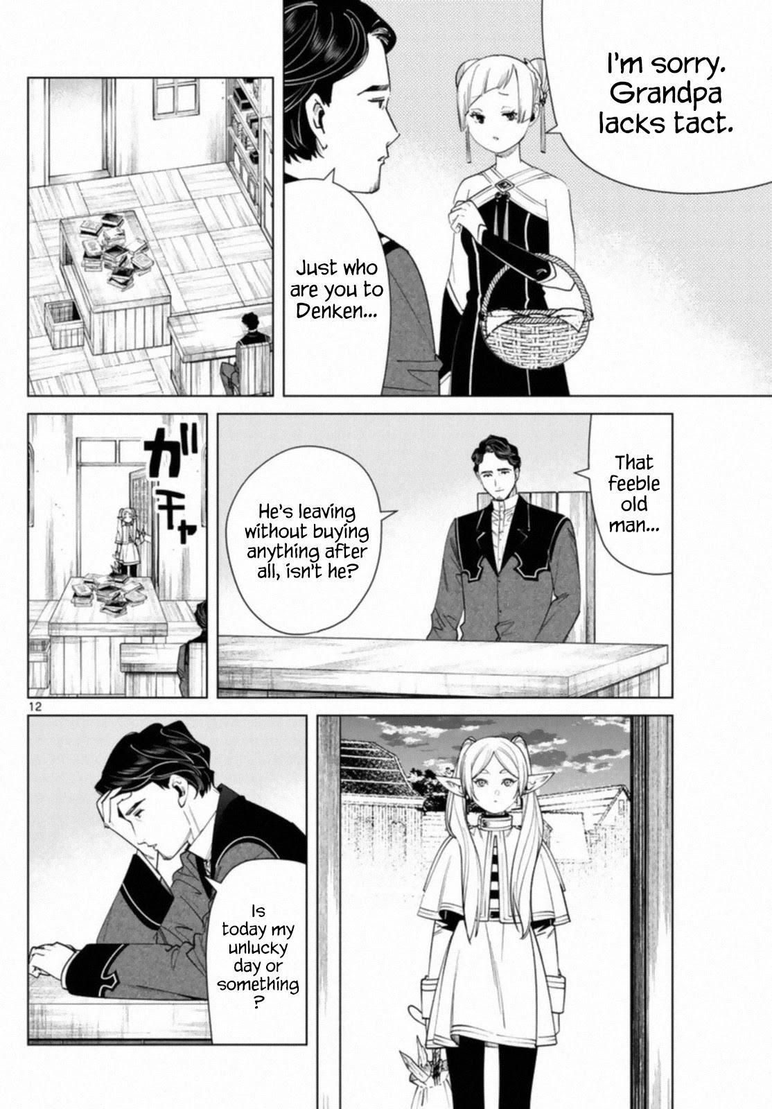 Sousou No Frieren Chapter 56 page 12 - Mangakakalots.com