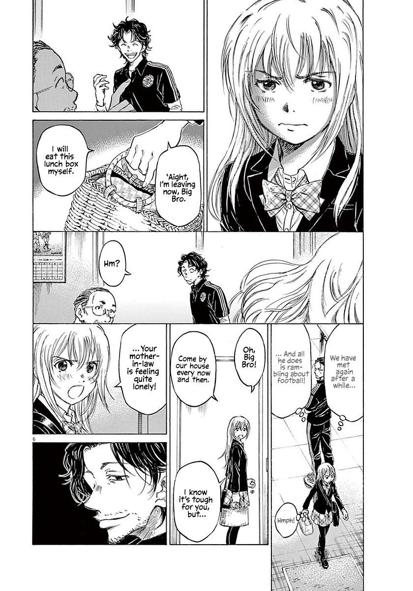 Ao Ashi Vol.3 Chapter 27: Hana Ichijou (1) page 6 - Mangakakalots.com
