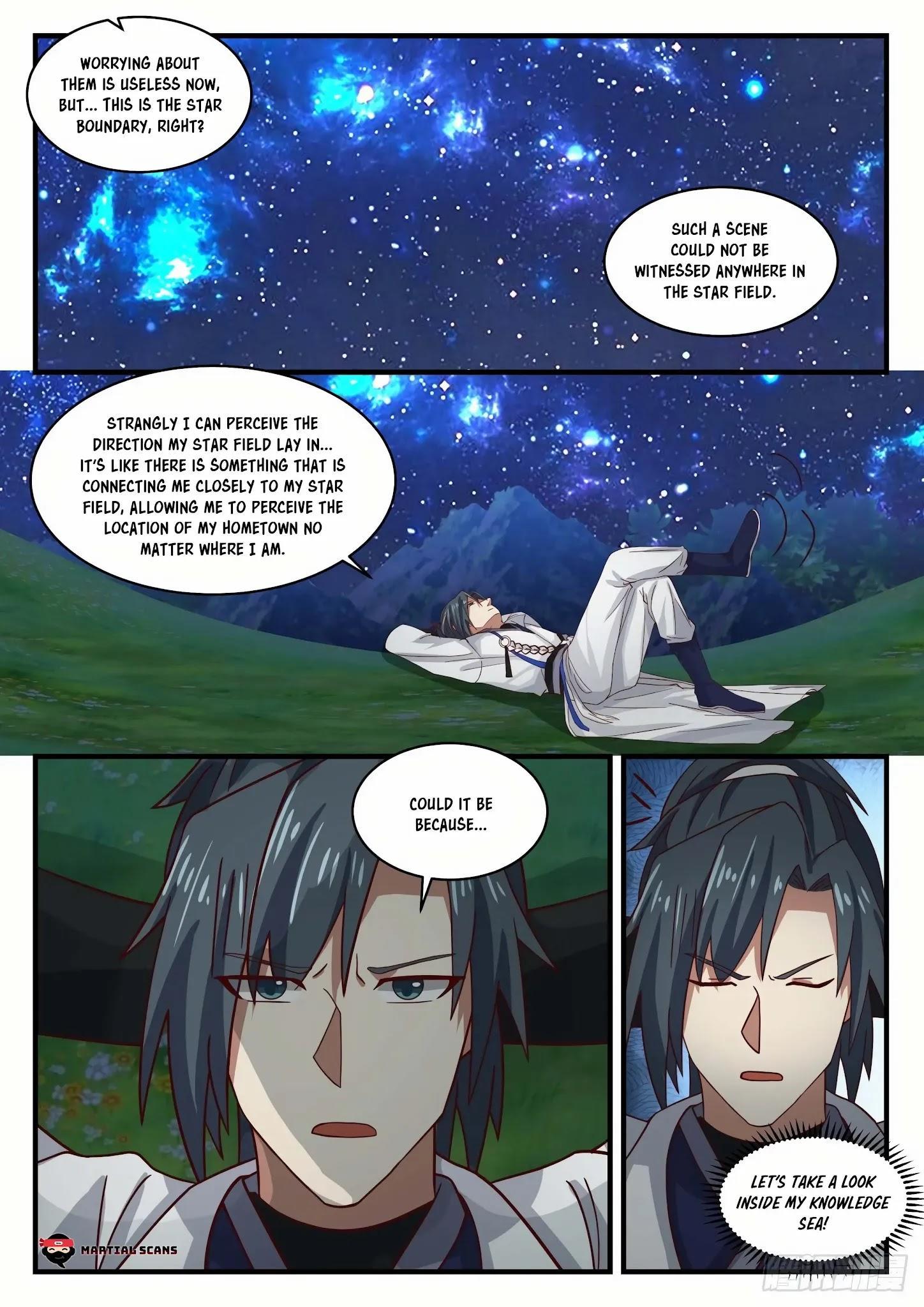 Martial Peak Chapter 1555: Arrived At The Star Boundary page 10 - Mangakakalots.com