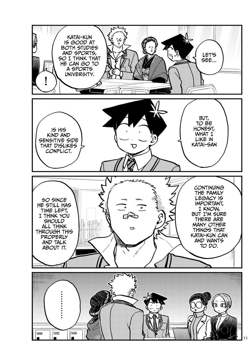 Komi-San Wa Komyushou Desu Chapter 256: Career Counseling page 11 - Mangakakalot