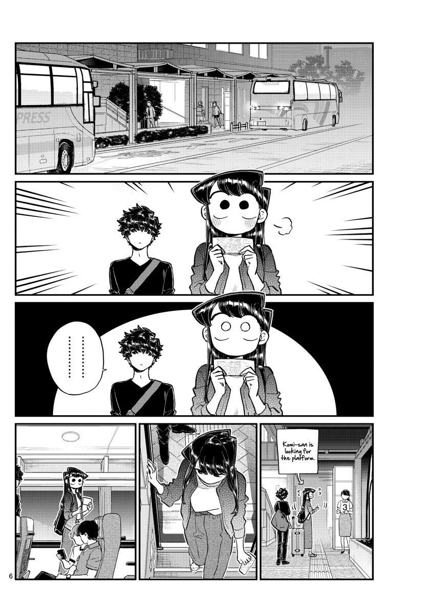 Komi-San Wa Komyushou Desu Vol.13 Chapter 183: Express Bus page 6 - Mangakakalot