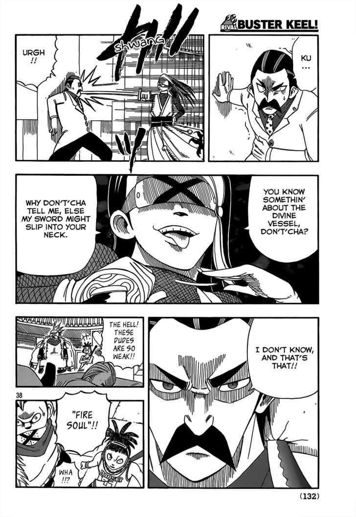 Buster Keel! Vol.2 Chapter 17 : Songbird Dream page 38 - Mangakakalots.com