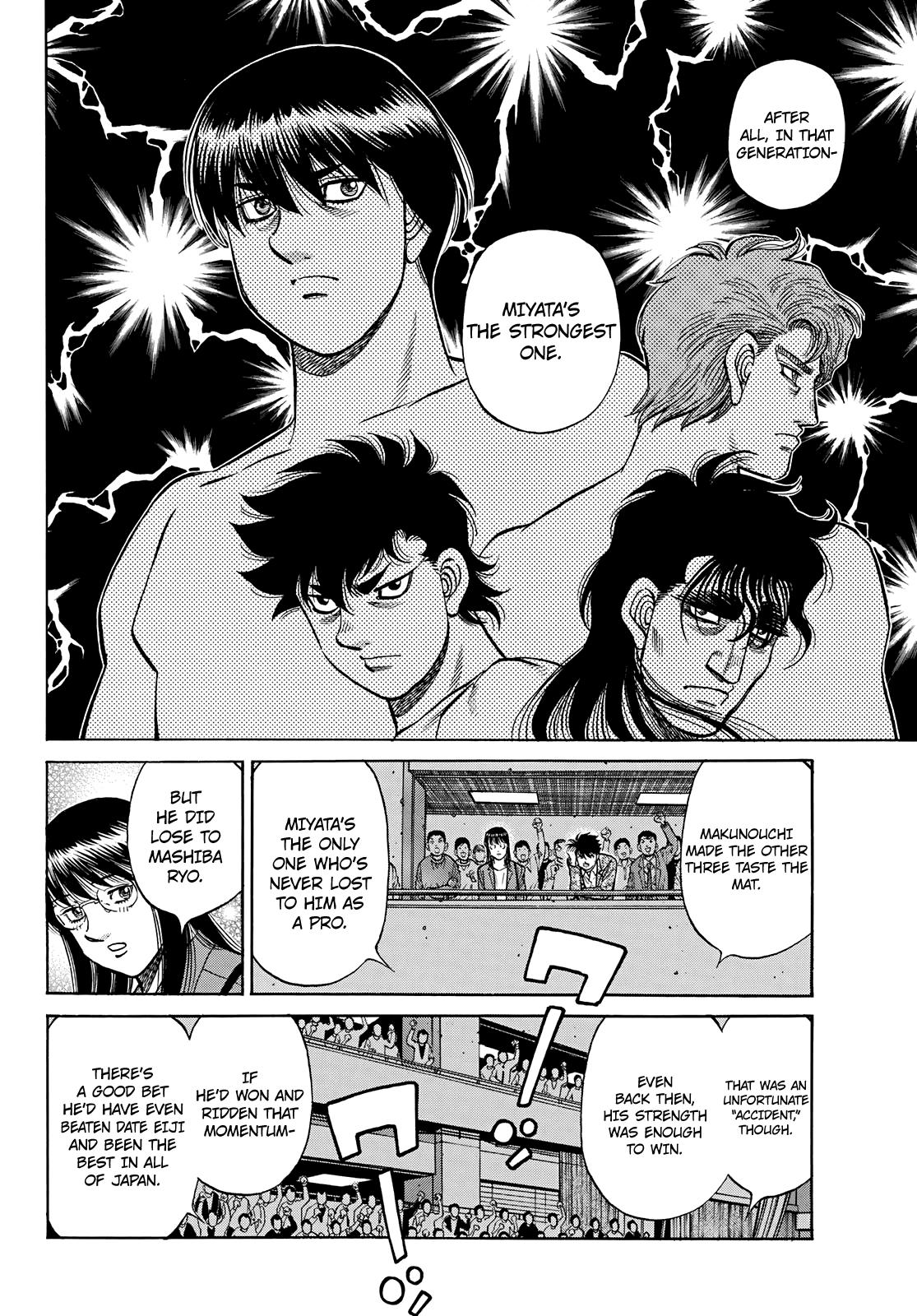 Hajime No Ippo Chapter 1351: The Makunouchi Generation page 9 - Mangakakalots.com