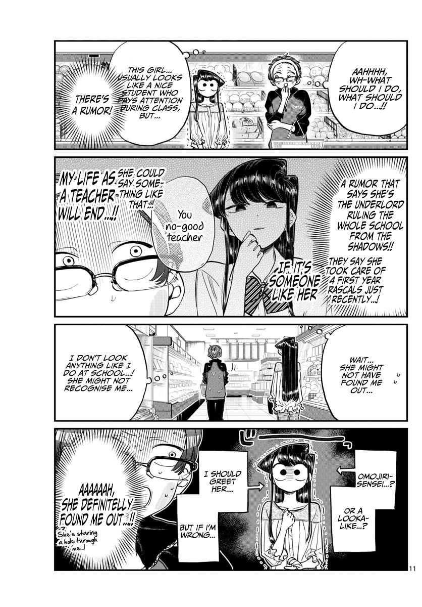 Komi-San Wa Komyushou Desu Vol.12 Chapter 158: Sensei page 11 - Mangakakalot