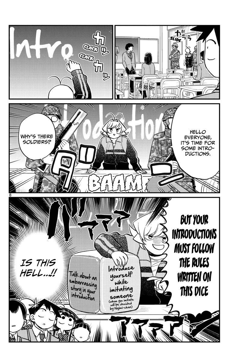 Komi-San Wa Komyushou Desu Vol.10 Chapter 130: New Class page 8 - Mangakakalot
