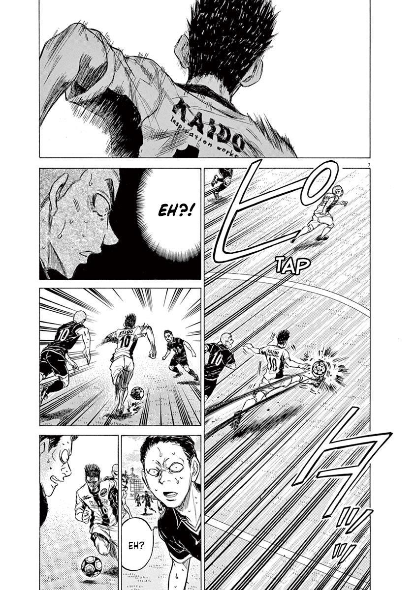 Ao Ashi Vol.13 Chapter 134: Like A Demon, Almost Like A Demon page 8 - Mangakakalots.com