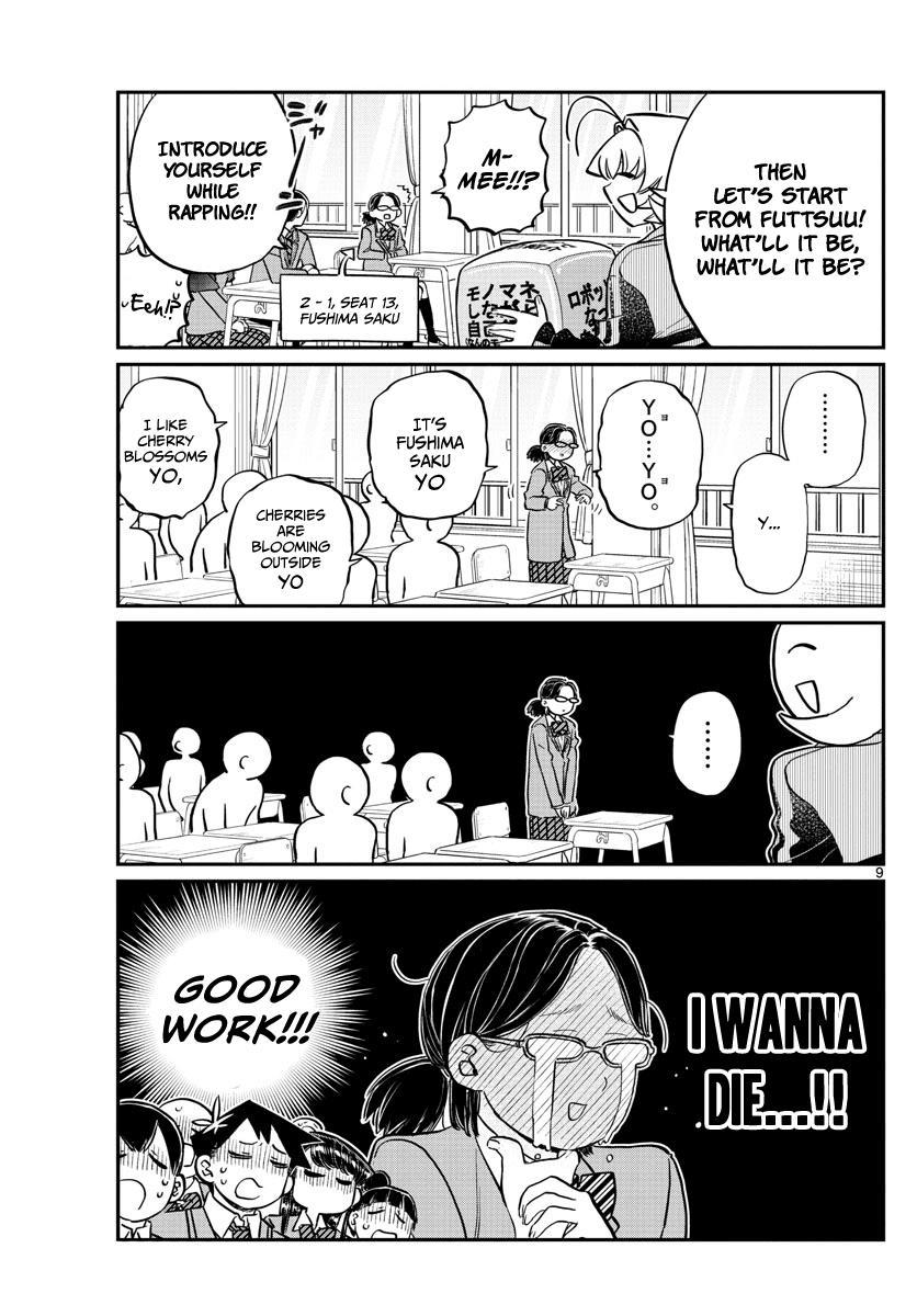 Komi-San Wa Komyushou Desu Vol.10 Chapter 130: New Class page 9 - Mangakakalot