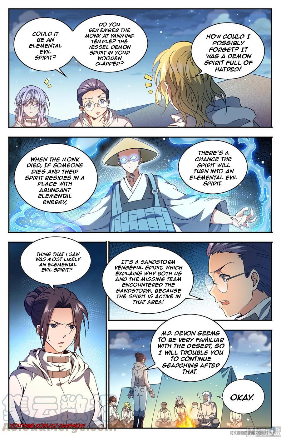 Versatile Mage Chapter 660 page 8 - Mangakakalots.com
