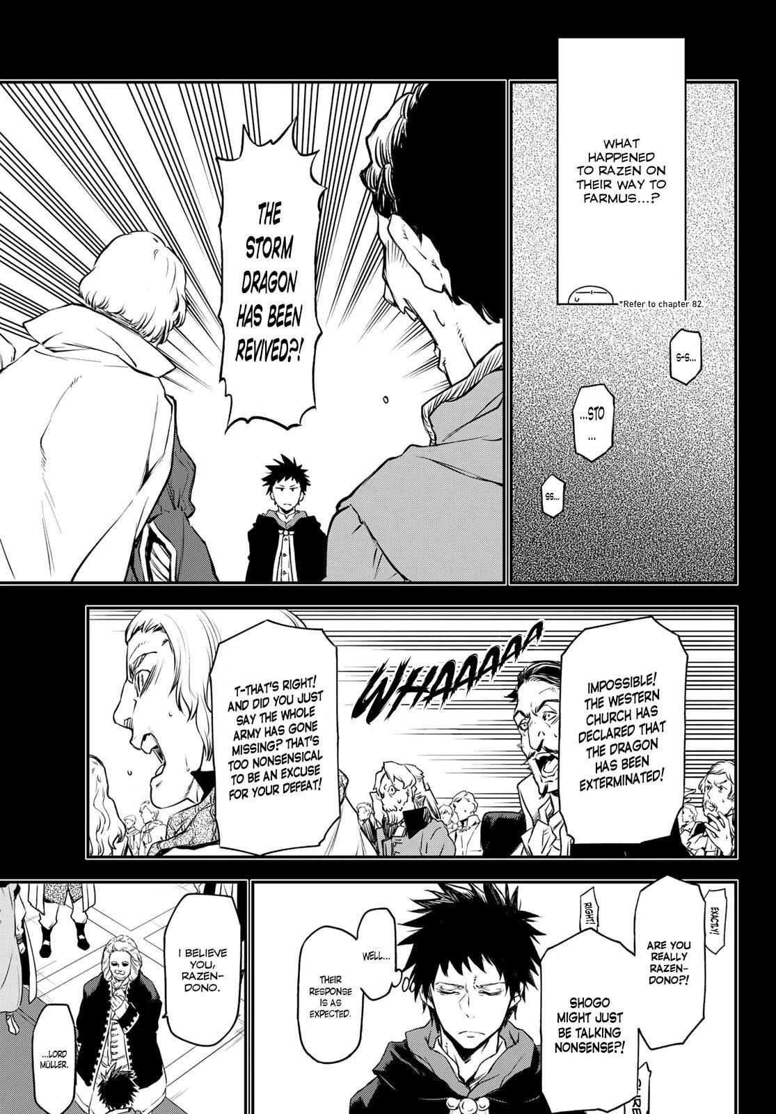 Tensei Shitara Slime Datta Ken Chapter 88: A Demon And A Plot page 7 - Mangakakalots.com