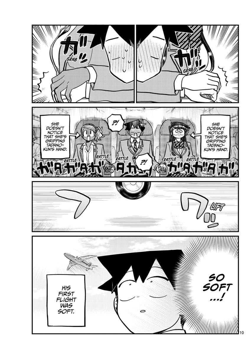 Komi-San Wa Komyushou Desu Chapter 278: Boarding page 10 - Mangakakalot