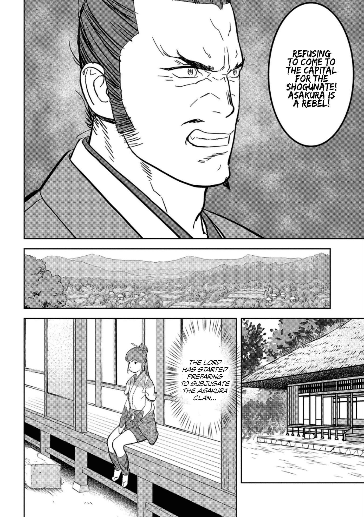 Sengoku Komachi Kurou Tan! Chapter 42 page 9 - Mangakakalots.com