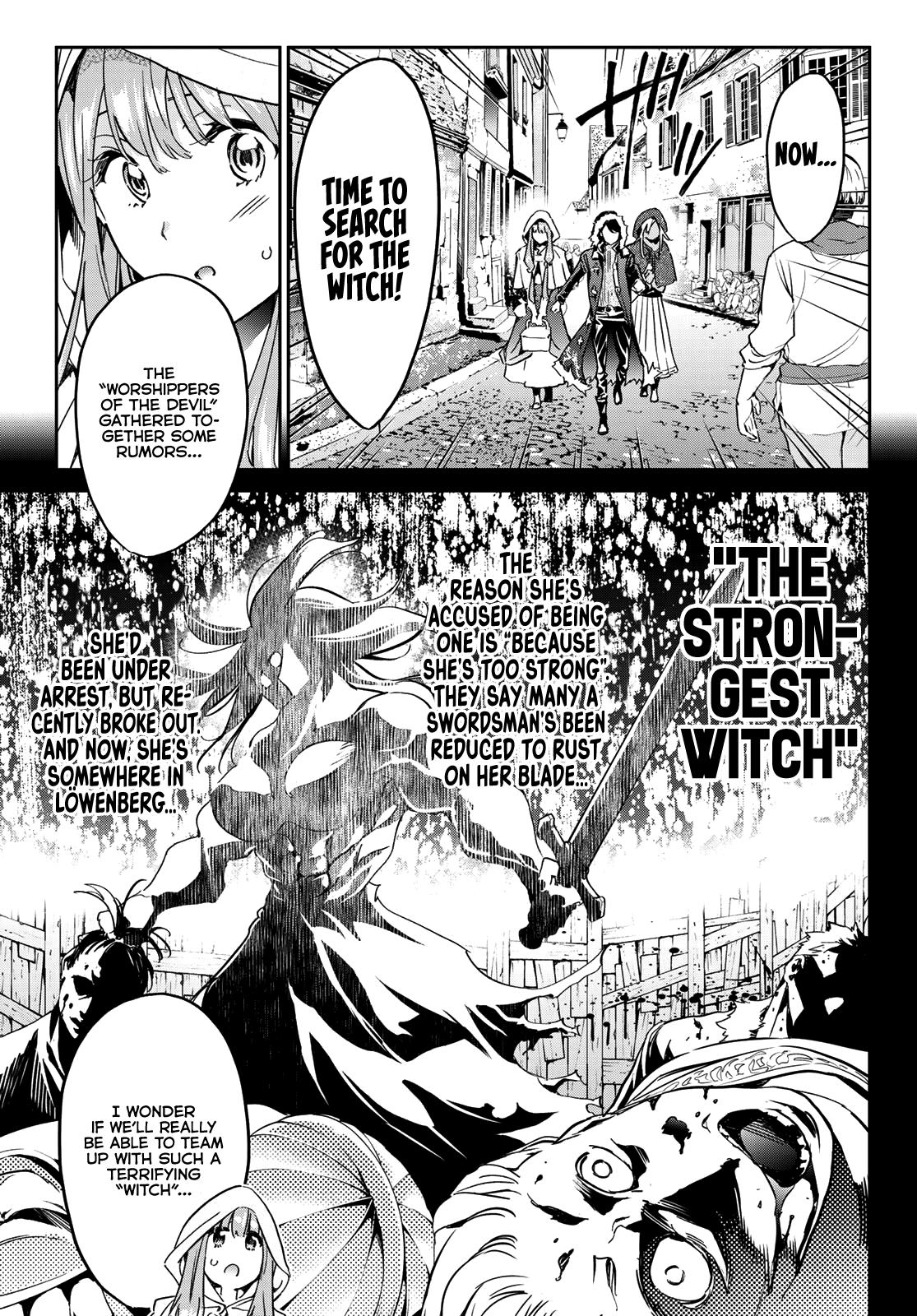Tricks Dedicated To Witches Chapter 11: The Strongest Witch page 4 - Mangakakalots.com
