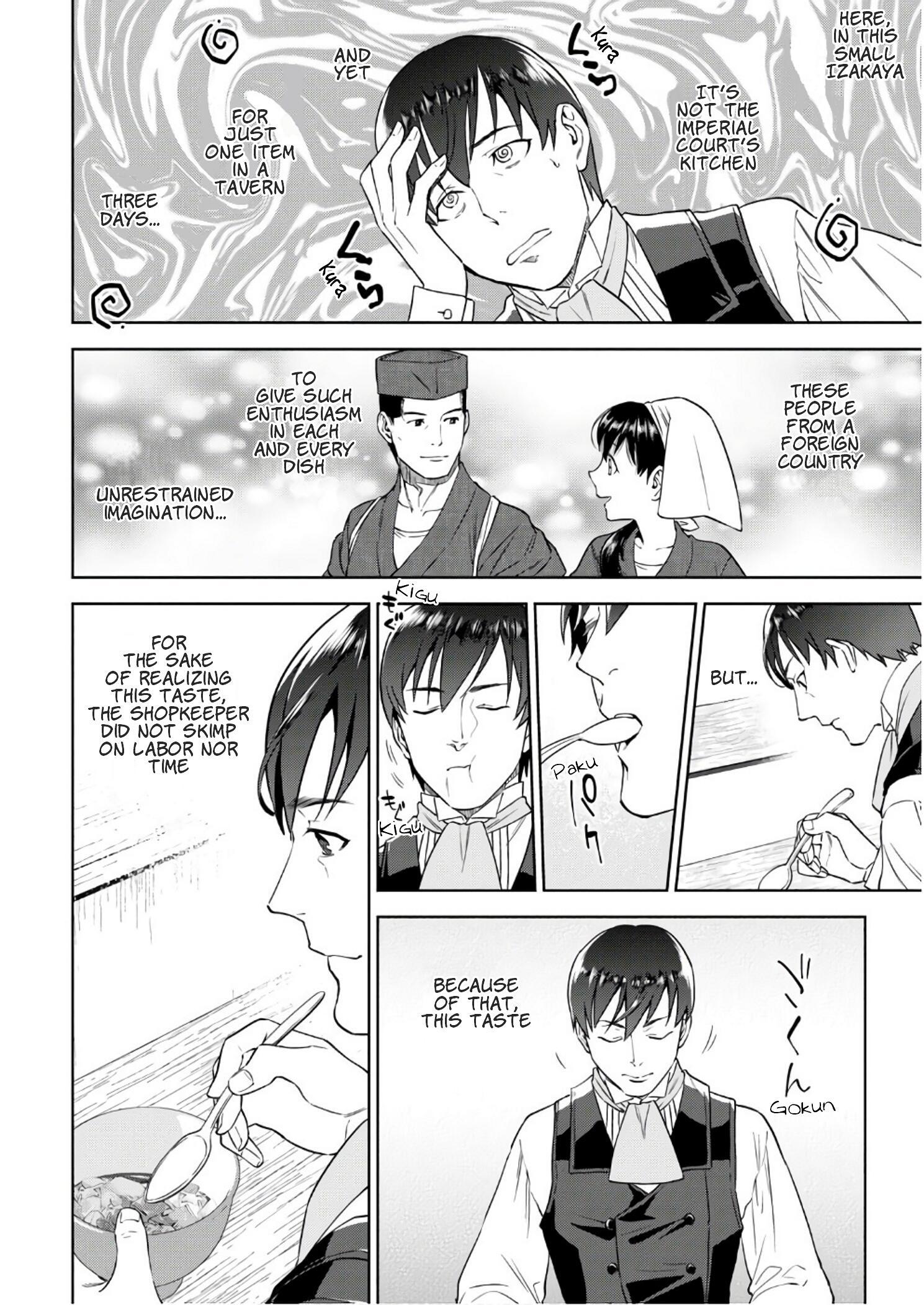 Isekai Izakaya Vol.6 Chapter 36: Beef Tendon Doteyaki page 23 - Mangakakalots.com