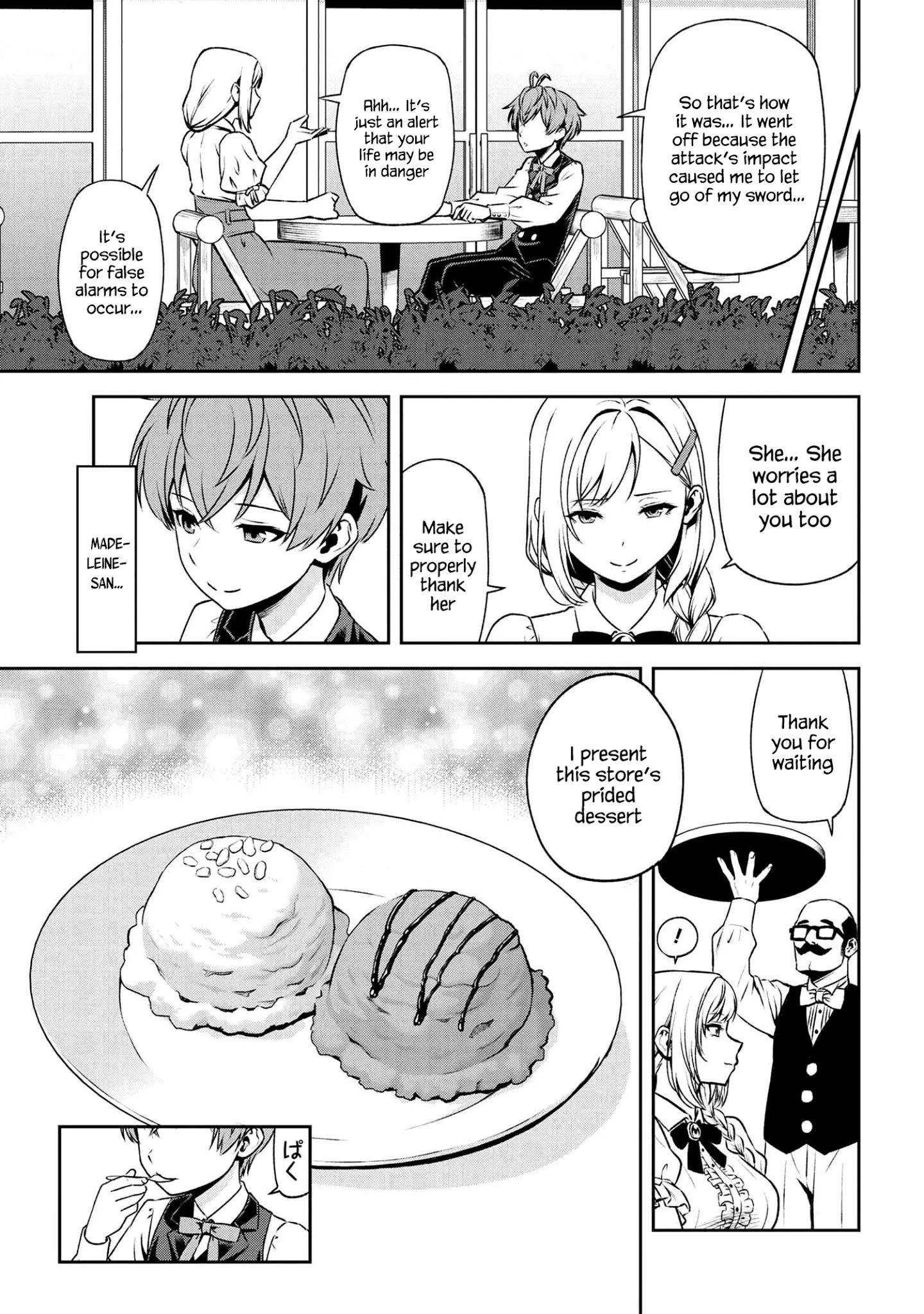 Older Elite Knight Is Cute Only In Front Of Me Chapter 16.2 page 4 - Mangakakalots.com