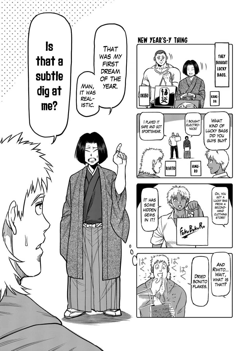 Kengan Ashua Chapter 236.5: 4-Panel Extras (6) page 2 - Mangakakalot