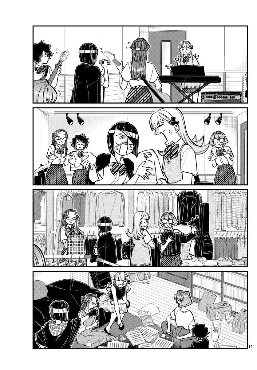 Komi-San Wa Komyushou Desu Chapter 235: Band page 11 - Mangakakalot