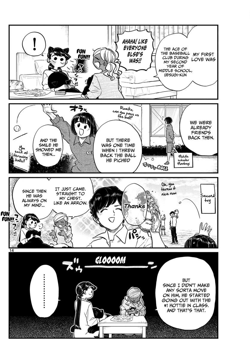 Komi-San Wa Komyushou Desu Vol.10 Chapter 142: A Sleep Over page 14 - Mangakakalot