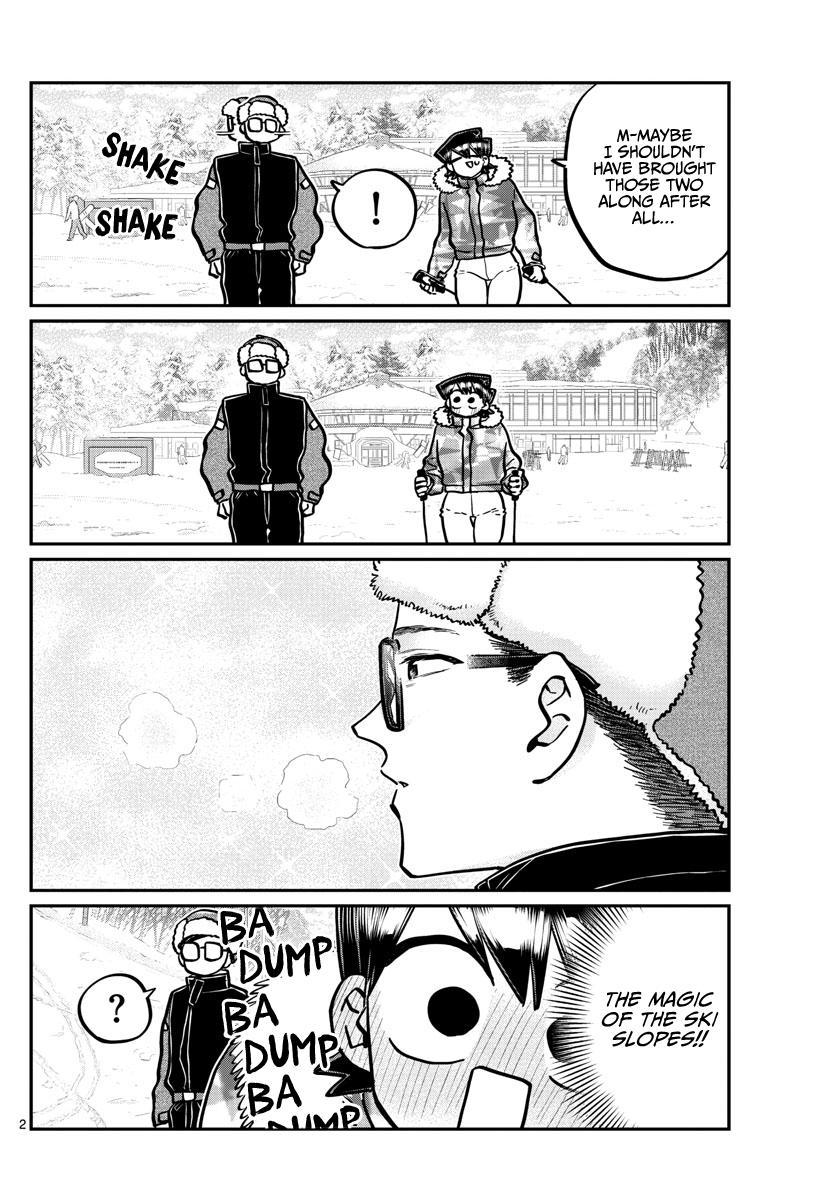 Komi-San Wa Komyushou Desu Chapter 266: Dad And Mom Skiing page 2 - Mangakakalot