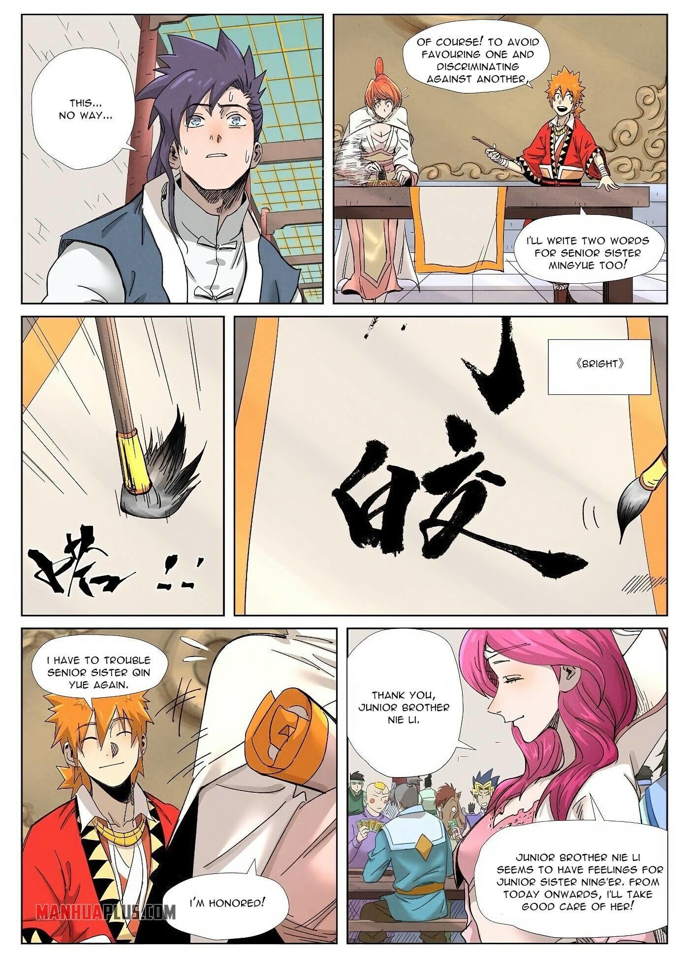 Tales Of Demons And Gods Chapter 342 page 9 - Mangakakalot