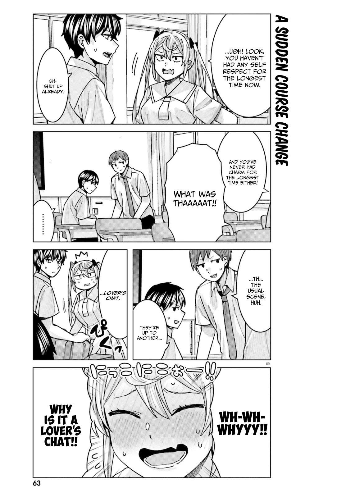 Himegasaki Sakurako Wa Kyoumo Fubin Kawaii! Chapter 11 page 9 - Mangakakalots.com