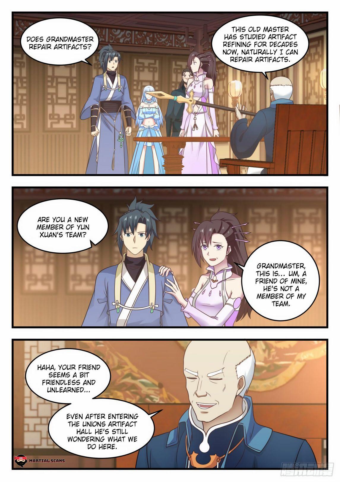 Martial Peak Chapter 592 page 2 - Mangakakalots.com