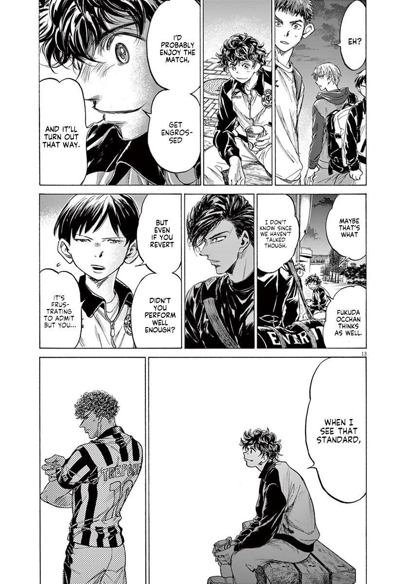 Ao Ashi Vol.21 Chapter 212: Ashito's Situation page 13 - Mangakakalots.com