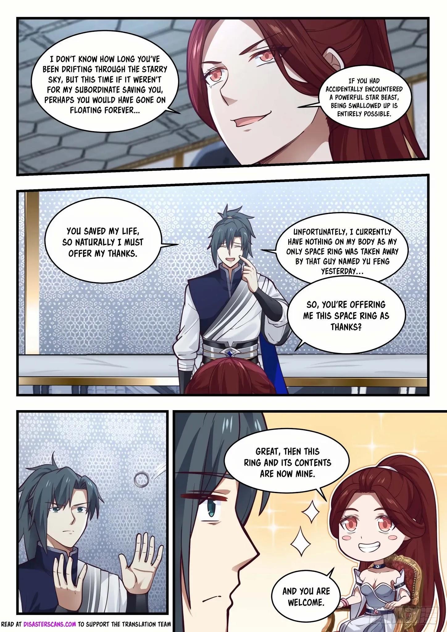 Martial Peak Chapter 981: You're Quite Pitiful page 8 - Mangakakalots.com