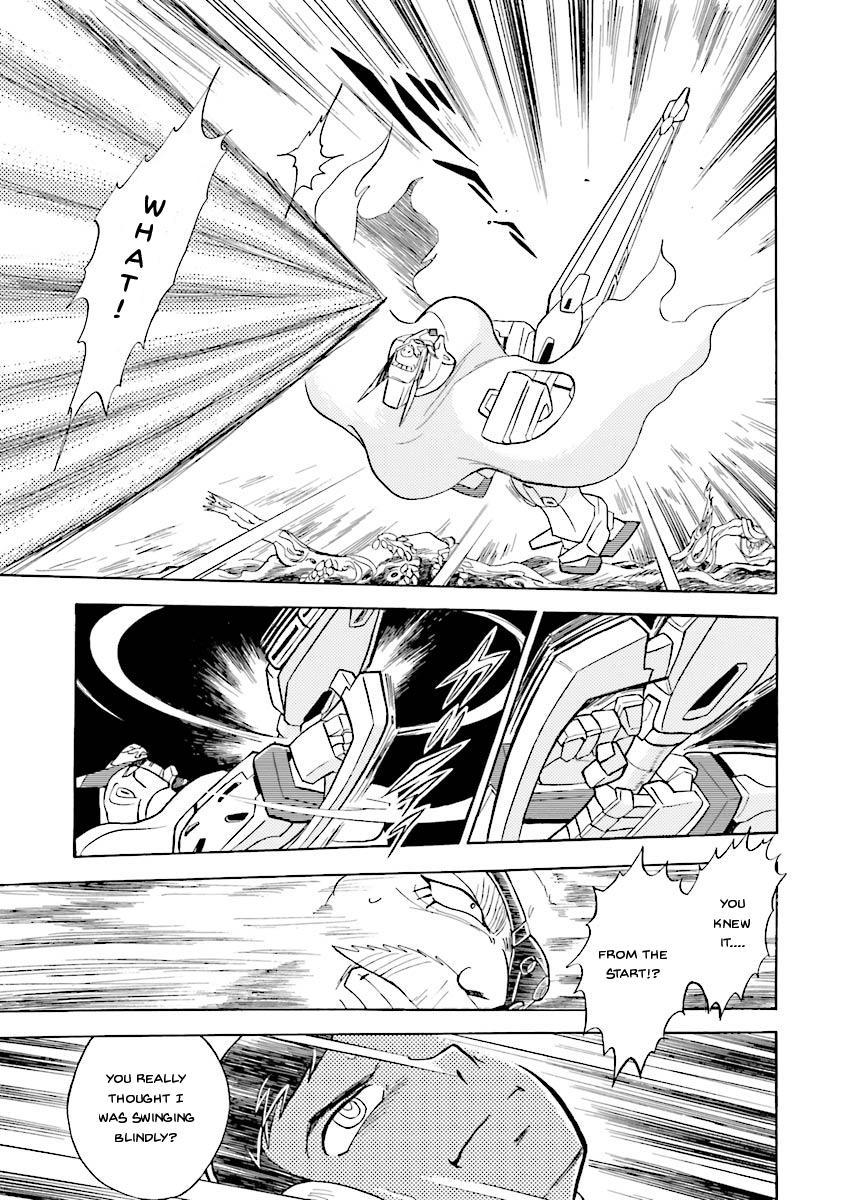Kidou Senshi Crossbone Gundam Ghost Vol.5 Chapter 20: Beast In The Jungle page 37 - Mangakakalots.com