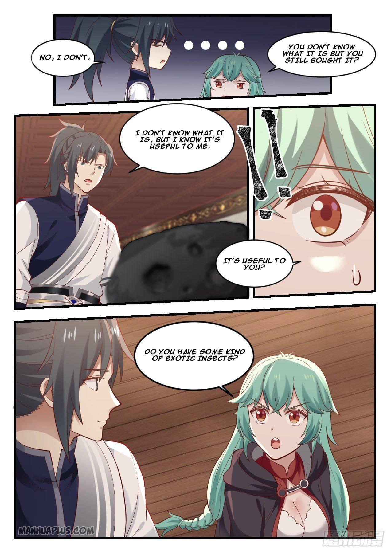 Martial Peak Chapter 1056 page 8 - Mangakakalots.com