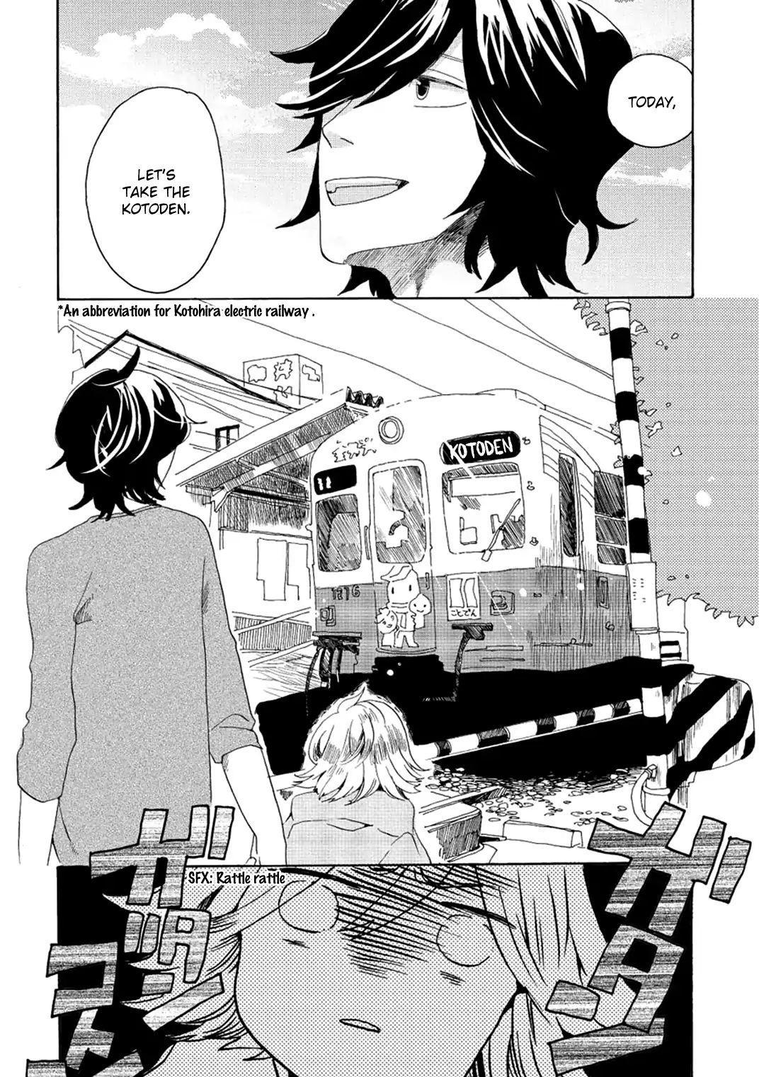 Udon No Kuni No Kin'iro Kemari Vol.1 Chapter 3: Kotoden page 17 - Mangakakalots.com